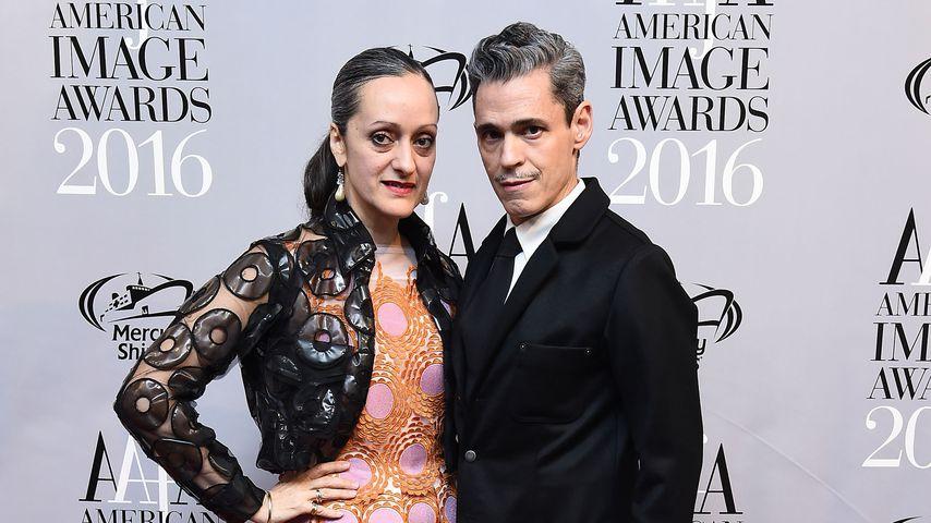 Isabel und Ruben Toledo im Mai 2016