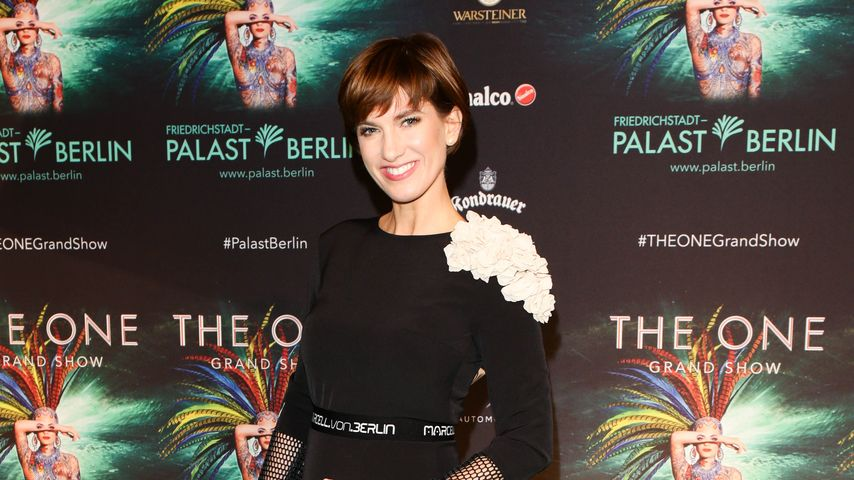 "Isabell Horn bei der Premiere von ""The ONE Grand Show"""