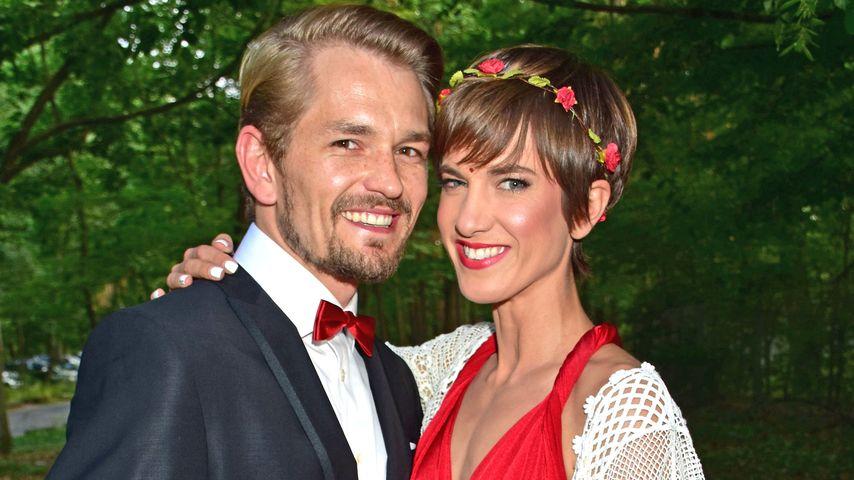 Isabell Horn und Jens Ackermann bei der Hochzeit von Sila Sahin