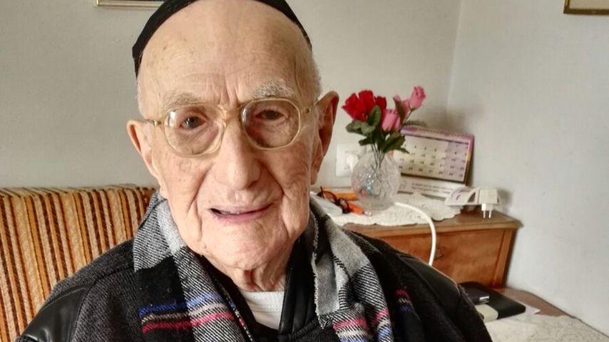 Israel Kristal tot mit 113: Er war der älteste Mann der Welt