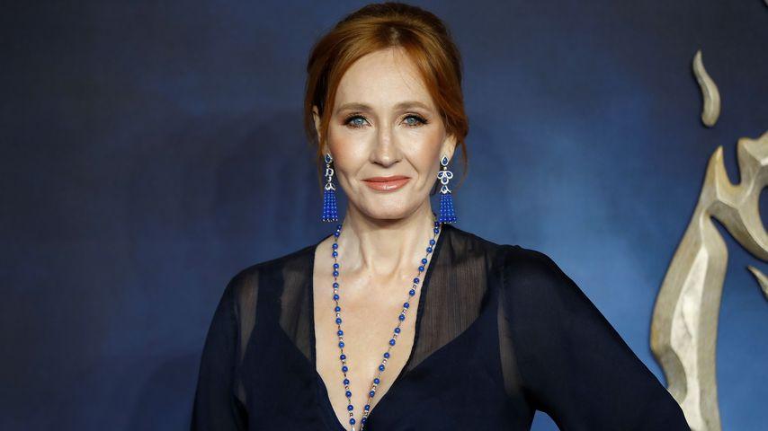 """J.K. Rowling bei der Premiere von """"Fantastische Tierwesen 2"""", November 2018"""