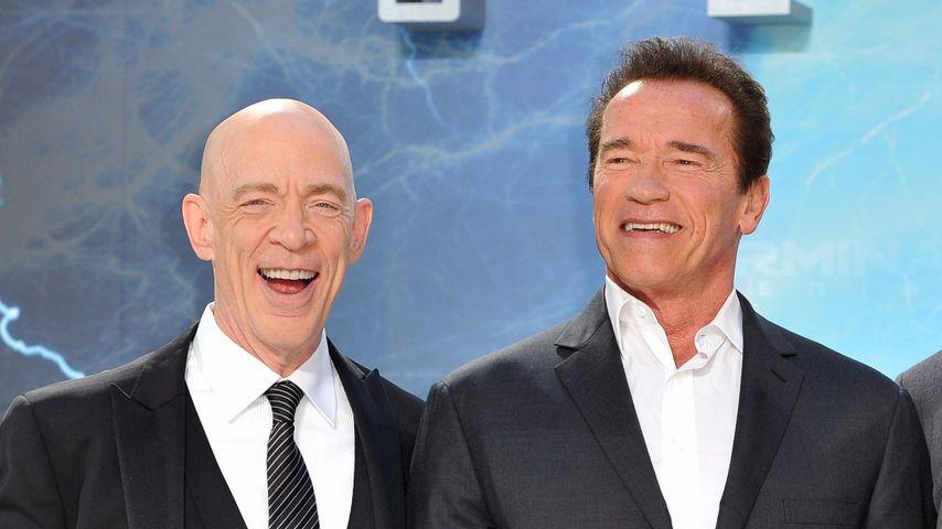 """Verletzungs-Furcht: """"Terminator""""-Star in Sorge um Arnie"""