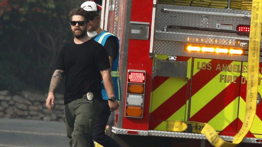 Jack Osbourne während der Brände in Malibu