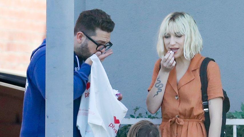Jack, Rose Andy Osbourne und eine unbekannte Frau in Studio City