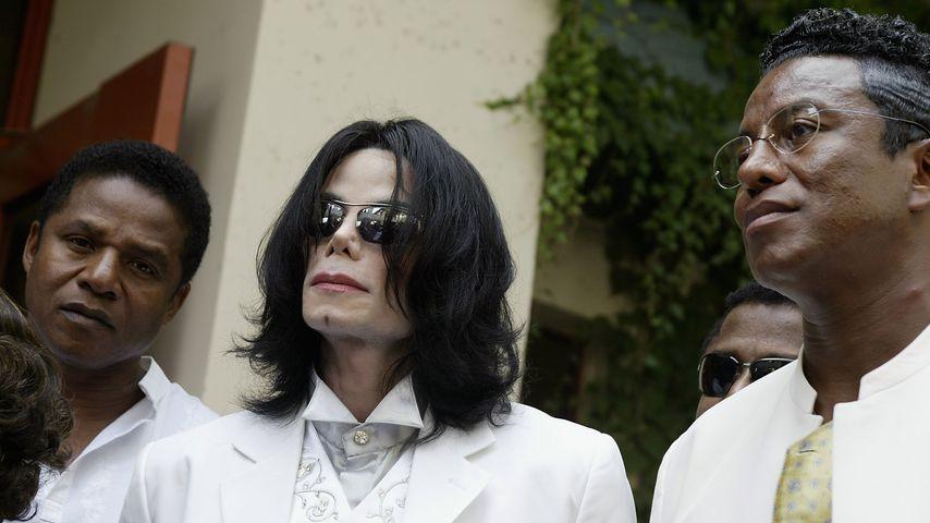 Jackie, Michael und Jermaine Jackson, 2004