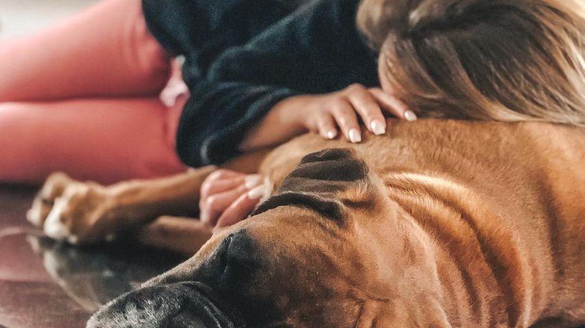 Jacqueline Siegle und ihr Hund