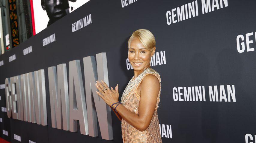 """Jada Pinkett-Smith auf der Premiere von """"Gemini Man"""" im Oktober 2019"""