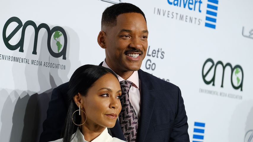 Jada Pinkett-Smith und Will Smith bei den EMA Awards 2016