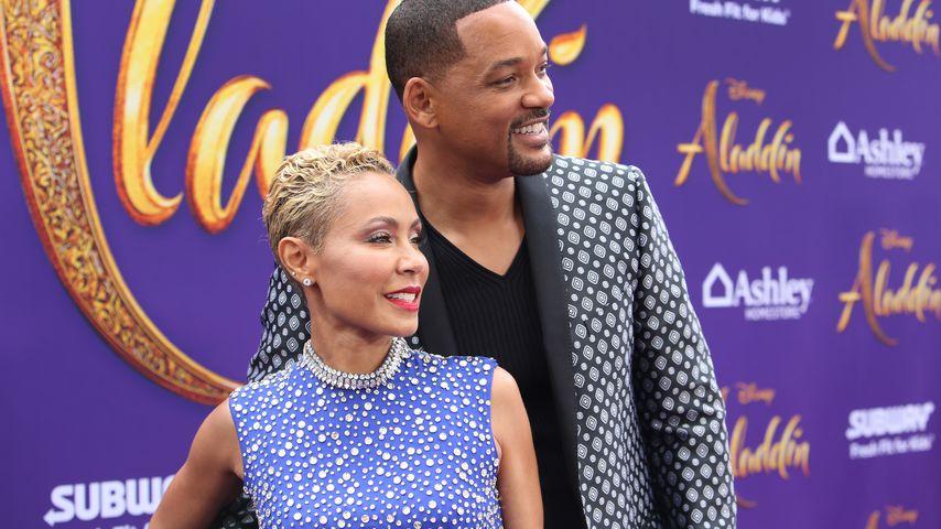 """Jada Pinkett-Smith und Will Smith bei der """"Aladdin""""-Premiere in Hollywood"""