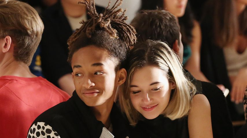 Eindeutiges Posting: Jaden Smith schwebt auf Wolke 7