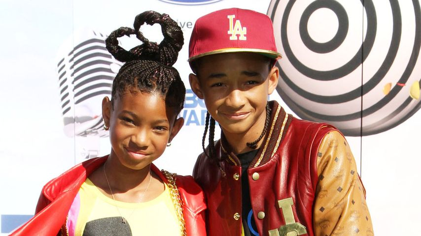 Jaden Smith und Willow Smith im Jahr 2011