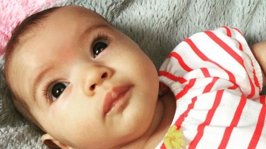 Große Kulleraugen: So süß ist Ashlee Simpsons Tochter Jagger