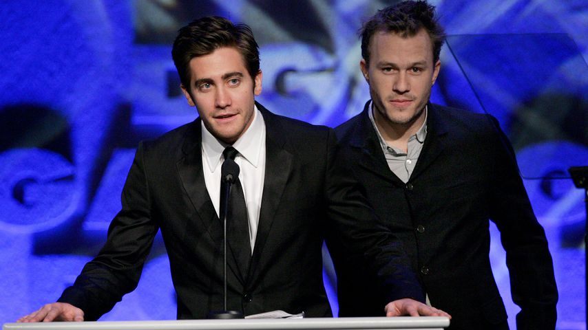 Jake Gyllenhaal und Heath Ledger 2006 bei den Directors Guild of America Awards
