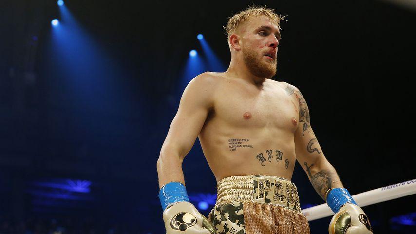 Jake Paul bei einem Boxkampf im Januar 2020