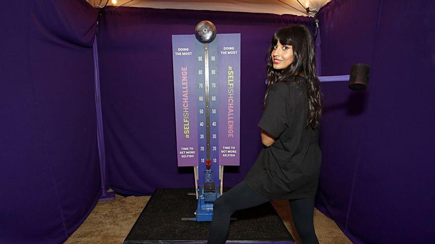 Jameela Jamil bei einem Zumba-Event in L.A. im Februar 2020
