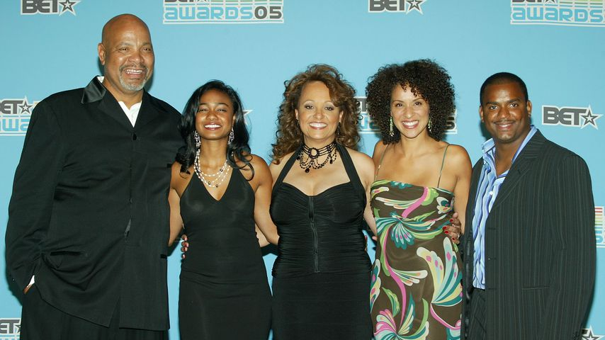 James Avery, Tatyana Ali, Daphne Reid, Karyn Parsons und Alfonso Ribeiro im Juni 2005