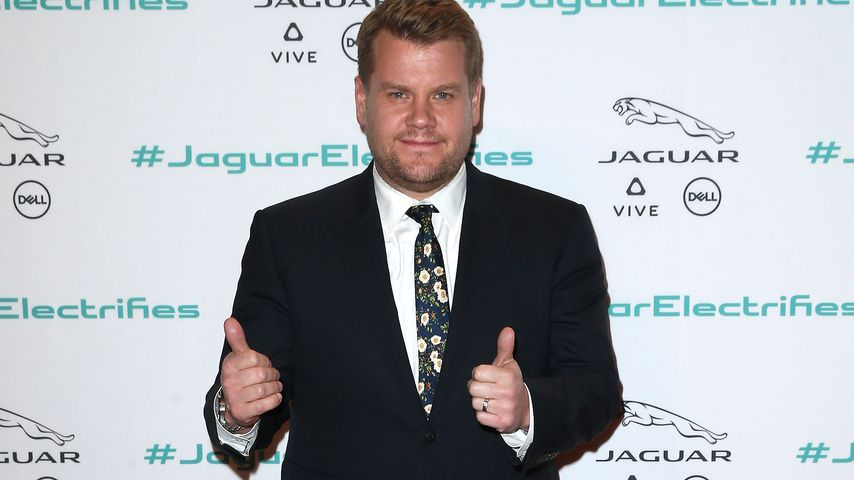 "James Corden bei der Präsentation des ""Jaguar I-Pace"" in Los Angeles"