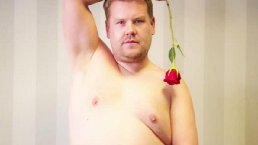 Neuer Bachelor? Carpool-Star James nackt im Rosenparadies