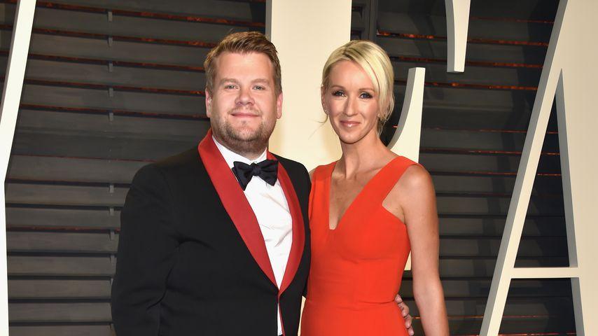 James Corden und Julia Carey bei der Vanity Fair Oscar Party