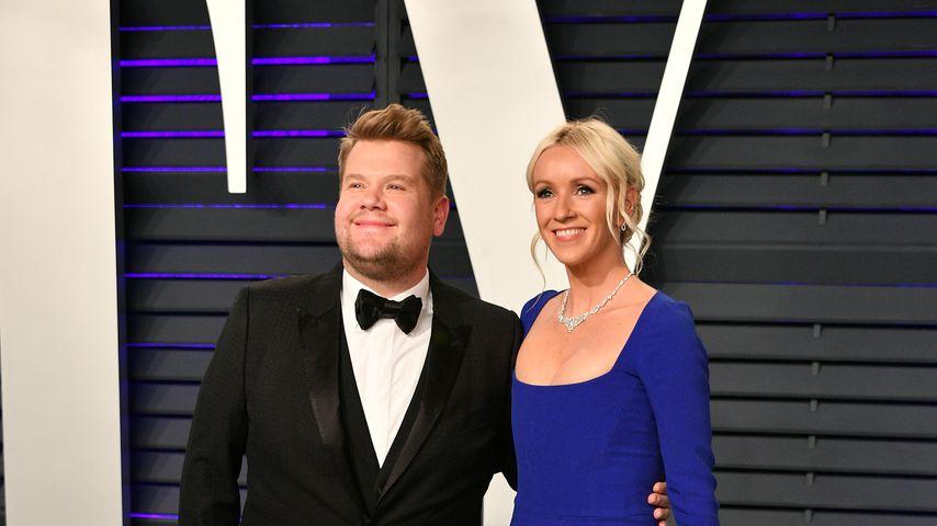 James Corden und Julia Carey bei der Vanity Fair Oscar Party 2019