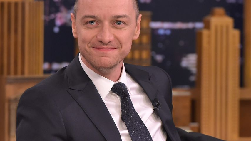 """James McAvoy bei der """"The Tonight Show Starring Jimmy Fallon"""""""