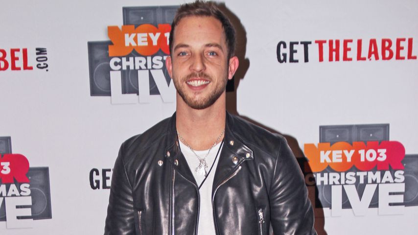 James Morrison bei einem Event in Manchester