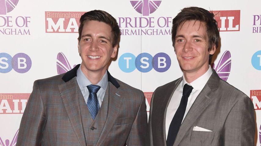 James und Oliver Phelps bei den Birmingham Awards 2018