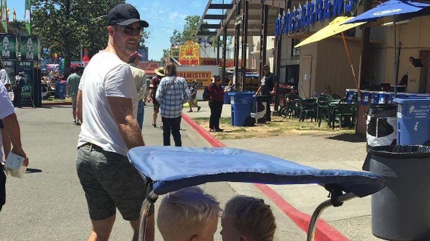 Dawson's Brut: James Van Der Beek zeigt seine süßen Kids!