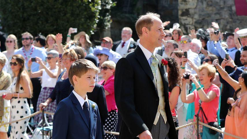 James, Viscount Severn und Prinz Edward