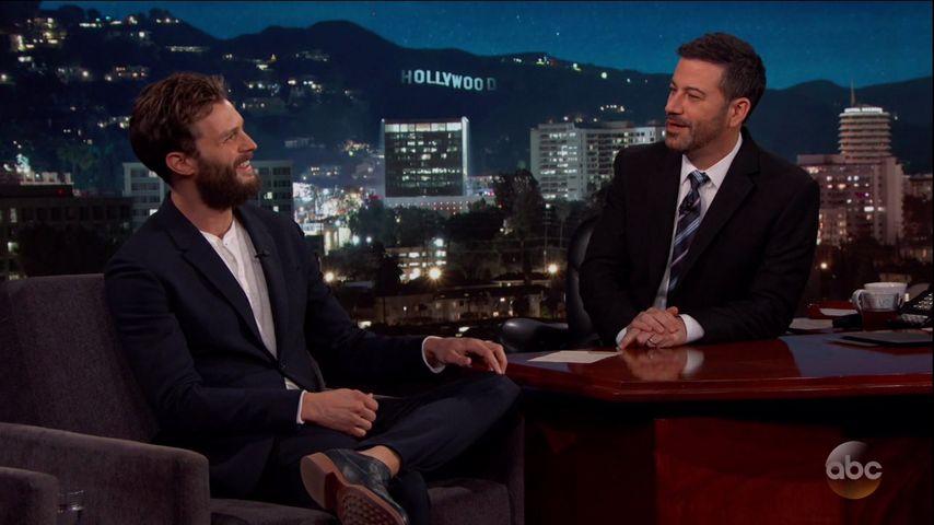 Jamie Dornan als Gast bei Jimmy Kimmel Live