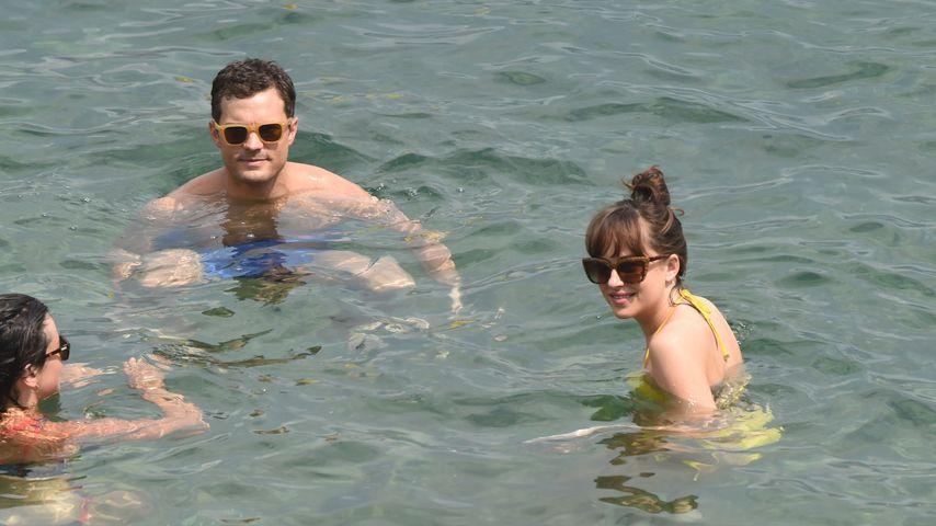 """Jamie Dornan und Dakota Johnson bei den """"Fifty Shades Darker""""-Dreharbeiten an der Côte d'Azur"""