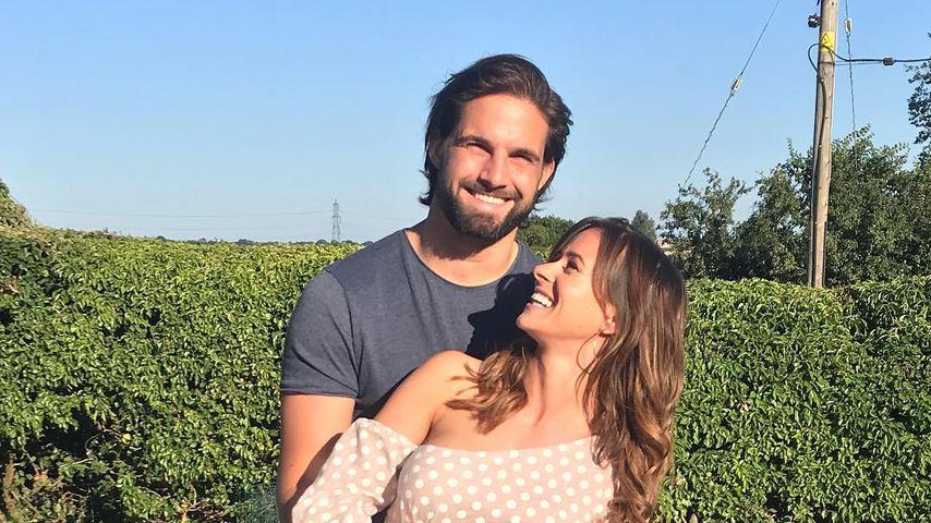 Jamie Jewitt und Camilla Thurlow, Juni 2018