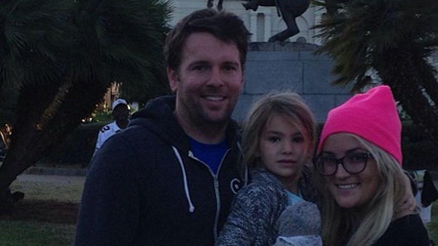Familientag: Jamie Lynn Spears besucht New Orleans