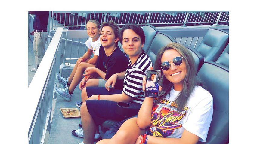 Jamie Lynn Spears mit ihrer Tochter Maddie und ihren Neffen Sean und Jayden