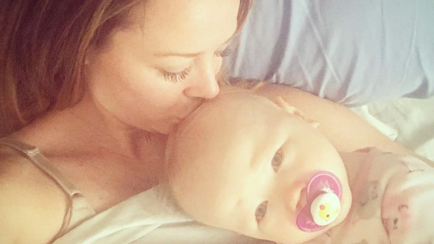 Jamie Otis mit ihrer Tochter Henley Grace
