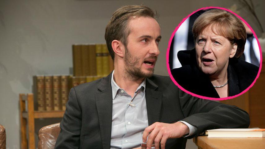Schmähgedicht-Affäre: Jan Böhmermann disst Angela Merkel