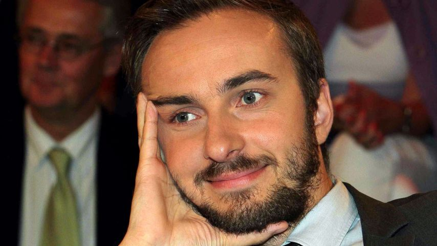 Jan Böhmermann in der ZDF-Talkshow 'Markus Lanz' in Hamburg