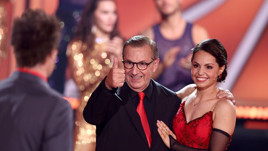 "Jan Hofer und Christina Luft bei ""Let's Dance"""