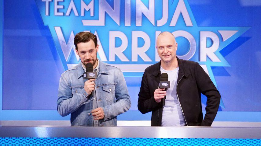 """Jan Köppen und Frank Buschmann bei """"Team Ninja Warrior"""""""