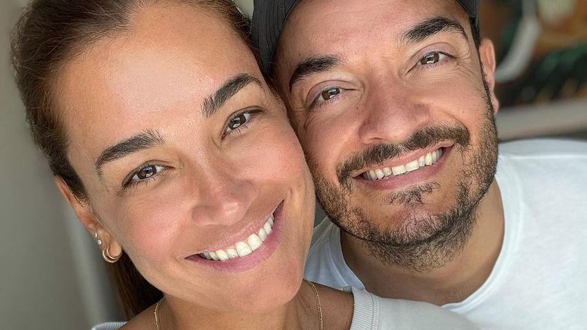 Jana Ina mit ihrem Mann Giovanni Zarrella