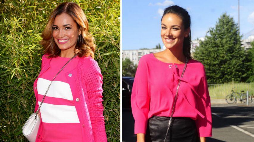 Pink & Leder: Die schönsten Outfits der Laurèl-Fashion-Show