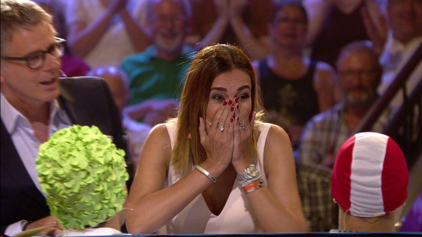 Jana Ina Zarrella völlig aufgelöst: Warum weint sie im TV?