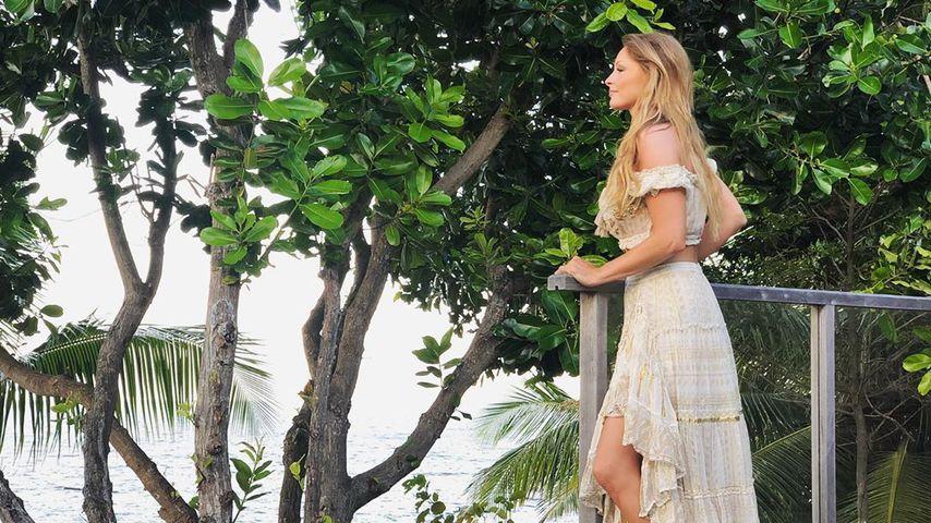 Jana Julie Kilka auf den Seychellen