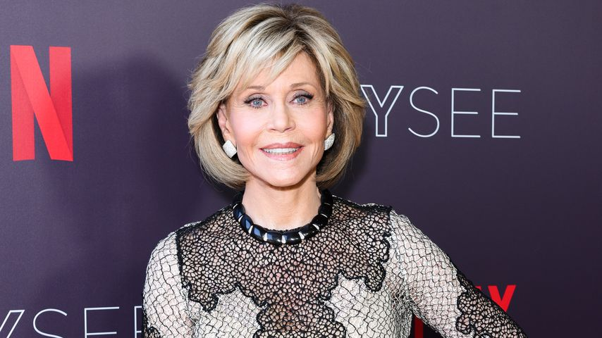 Jane Fonda bei einem Netflix-Event