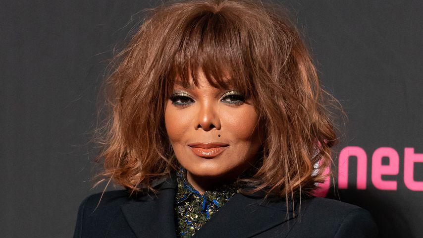 Sängerin Janet Jackson in Hongkong