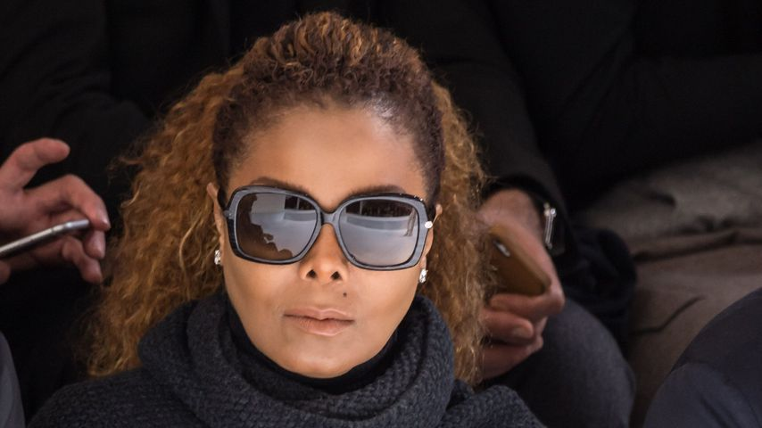 Janet Jackson bei der Pariser Fashion Week