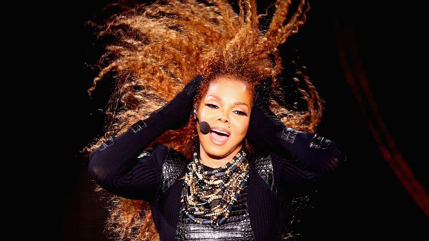 Janet Jackson bei einem Konzert in Dubai