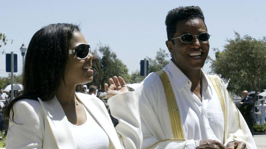 Janet und Jermaine Jackson in Santa Maria