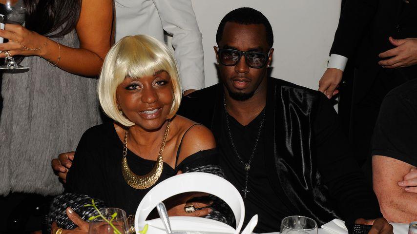Janice Combs mit ihrem Sohn P. Diddy