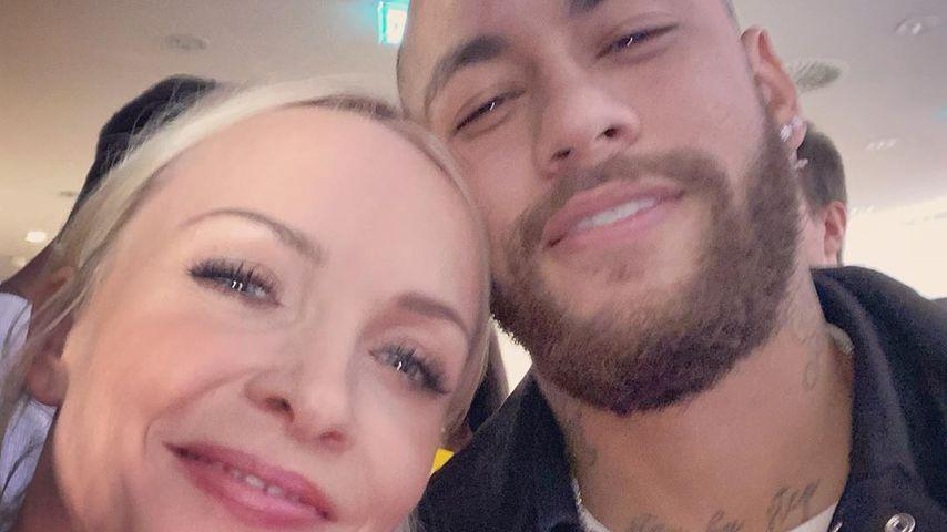 Janin Ullmann und Neymar Jr. am Valentinstag 2020